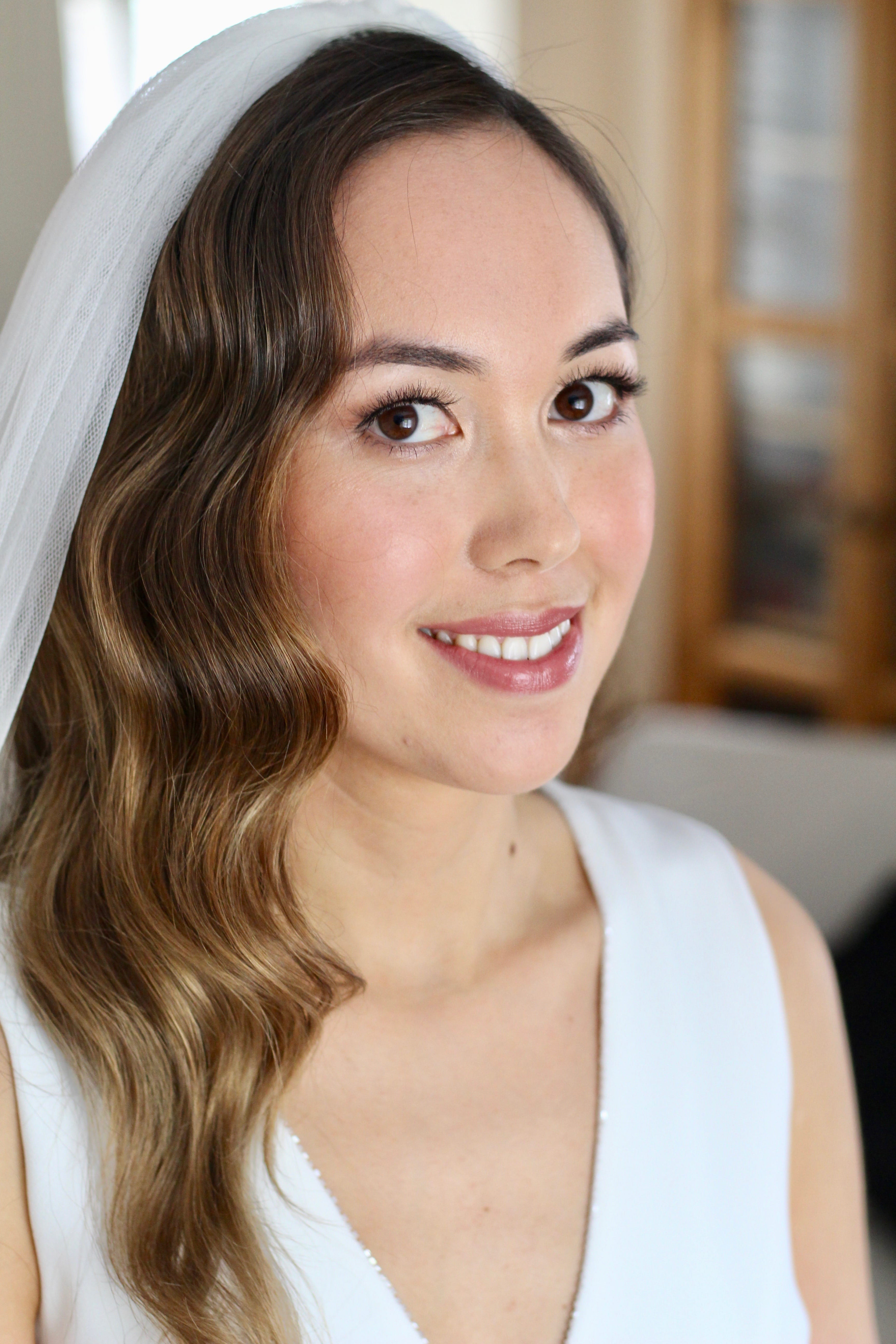 Hollywood Waves | Oxfordshire Hair & Makeup Artist