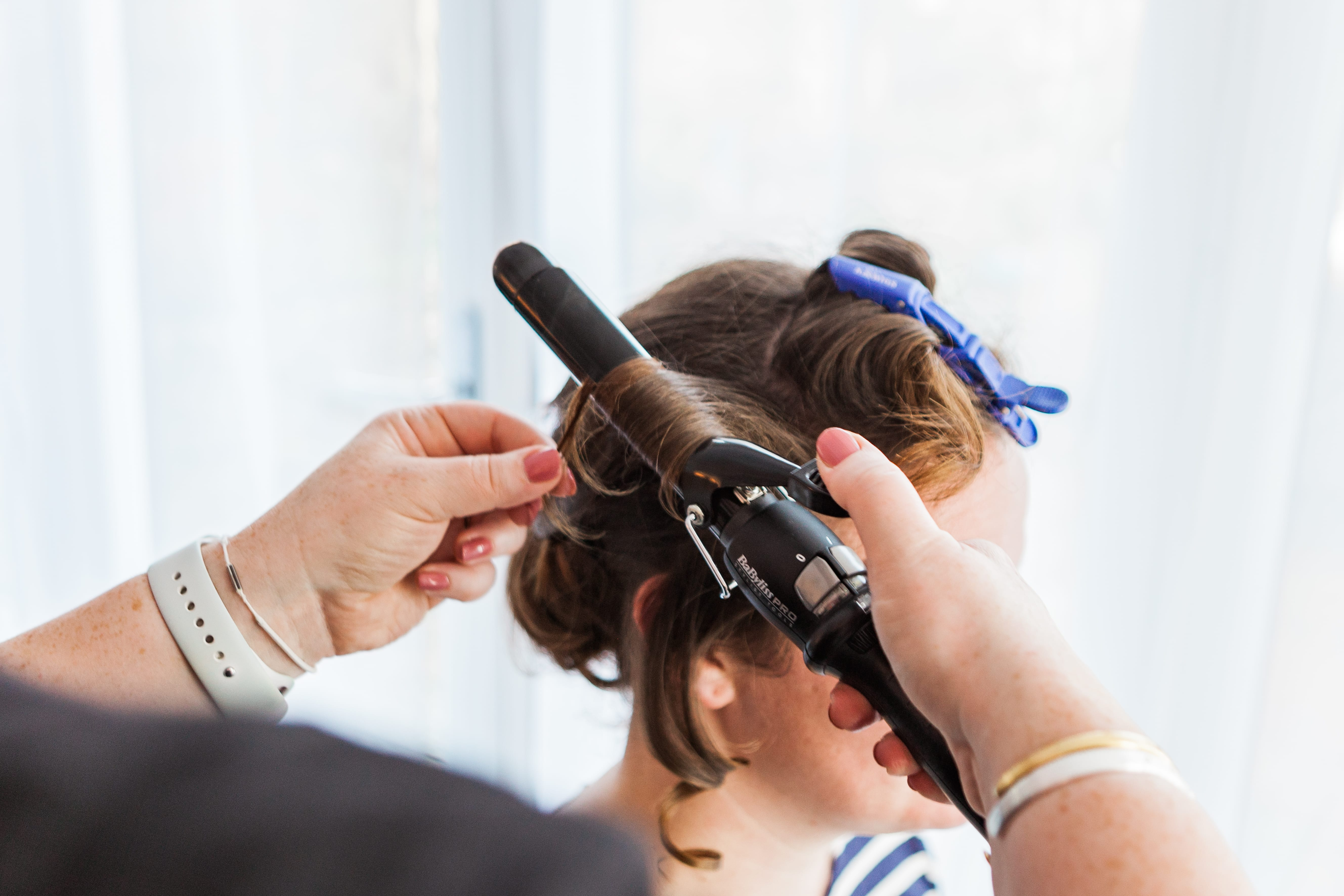 Should I have hair or makeup done first on my wedding morning? Wedding Hair and Makeup in Oxfordshire